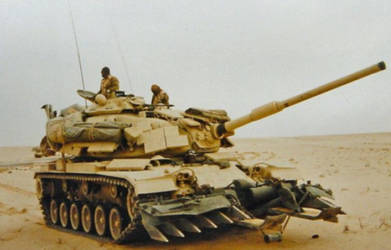 The M60 Patton Mk III by unspacy
