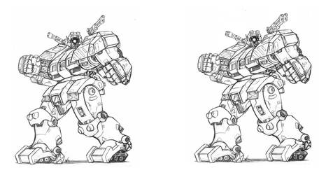 NG V32 Bruiser and MKII by unspacy