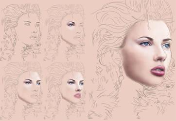 Scarlett Progress So Far by kristymariethomas