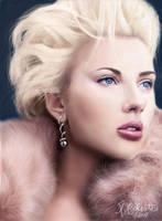 Scarlett Johansson by kristymariethomas