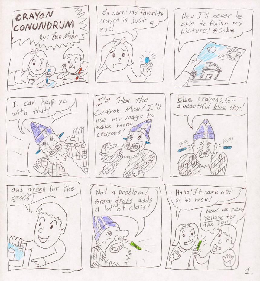 Crayon Conundrum Pg.1 by FutureReagan