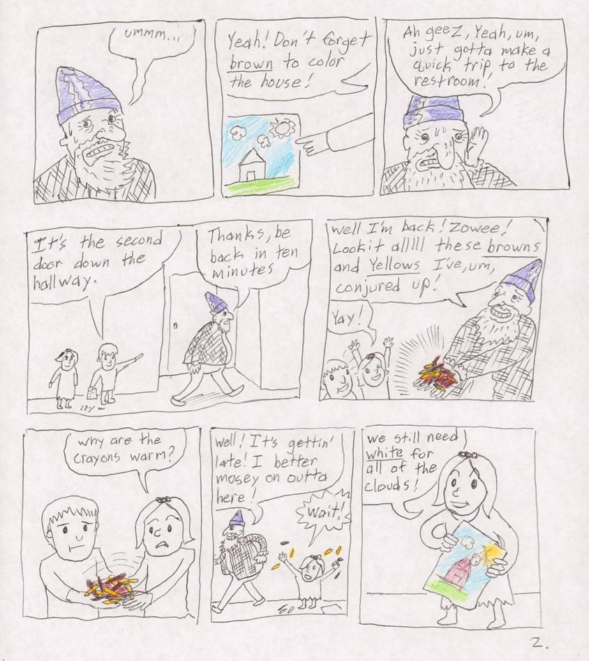 Crayon Conundrum Pg.2 by FutureReagan
