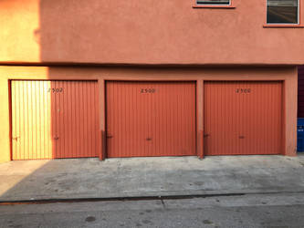 Garage Door Series 1/3 by Wannabby