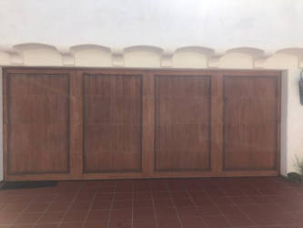 Garage door series 1/7 by Wannabby