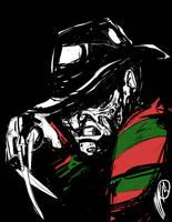 Horror Classics: Freddy Krueger by SGTMADNESS
