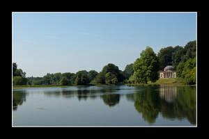 Stourhead - Lake and temple by korenwolf