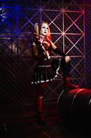 Harley Quinn cosplay by CaptainIrachka