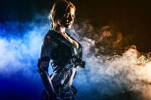 Sonya Blade Cosplay by CaptainIrachka