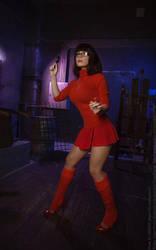 Velma Dinkley - ScoobyDoo by CaptainIrachka
