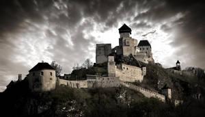 Castle Trencin, Slovakia by klaudiamad