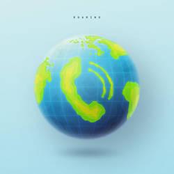 Roaming Globe by klaudiamad
