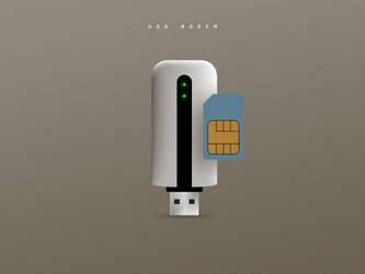 USB modem by klaudiamad