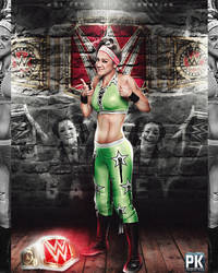 Bayley WWE Raw Woman's Champion Picture by PrabhatKing01