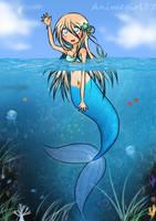 Deep Sea Mermaid by animegirl77