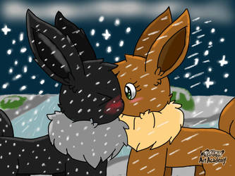 Winter lovers (2nd prize winner) by JustinRoKStar