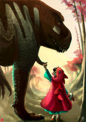 Walk with a Dragon by JBergen1910