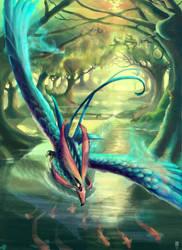 Blue Phoenix by JBergen1910