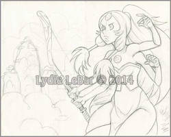 Steven Universe-Giant Woman Opal WIP by Lilly-Lamb