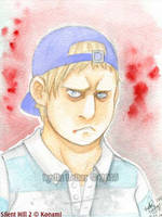 SH2 Watercolor Series_Eddie Dombrowski by Lilly-Lamb