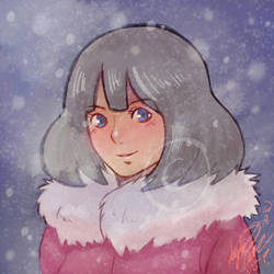 Out in the Snow by Lilly-Lamb