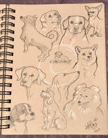 Lilly-Lamb Sketchbook 2018 Part 23 by Lilly-Lamb