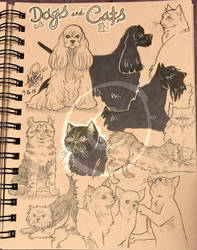 Lilly-Lamb Sketchbook 2018 Part 28 by Lilly-Lamb