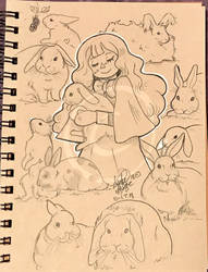 Lilly-Lamb Sketchbook 2018 Part 34 by Lilly-Lamb