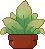 Pixel plant 1 by Alkiton