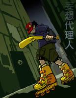 Street Assailant by Robo-Shark