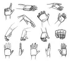 Shape Breakdowns: Hands by Robo-Shark
