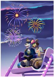 [COM] Summer Fireworks by Robo-Shark