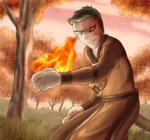 Firebender by Robo-Shark