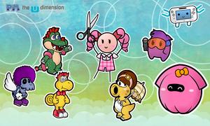 Paper Mario : The U Dimension - P A R T N E R S by MonoKhromatik
