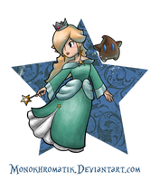 The Empress of the Stars: Rosalina by MonoKhromatik