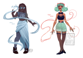 Witchy Adopts ~ by Vicky-Pandora