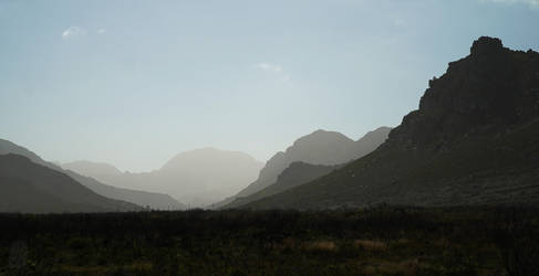 Palmiet River Valley by AfricanObserver