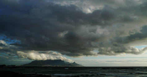 Table Bay and Mountain by AfricanObserver