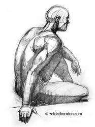 Anatomy class sketch by zeldat