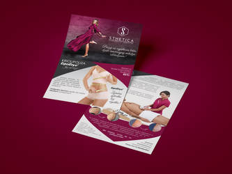 Flyer | A5 | aesthetic medicine clinic by imaginaryuser