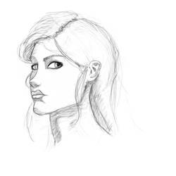 Proportion study sketch 2 by ShieldCrush