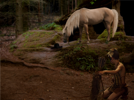 The Way Of The Woods (For Native American Contest) by Fiamma-Studios