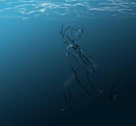 swim by stellamary