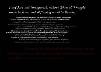 Blessing's of Sheogorath by freeskid
