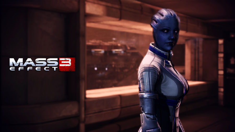 Liara Tsoni Wallpaper Mars By Strayker On Deviantart