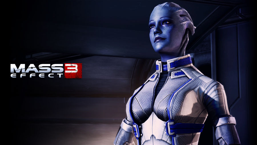Liara Tsoni Wallpaper Normandy Extended Cut By Strayker On