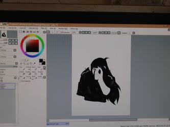 Kazuza in progress by Niqua10023