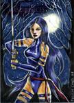 Psylocke by feliciacano