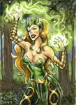 Enchantress by feliciacano