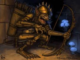 Cave Goblin by feliciacano