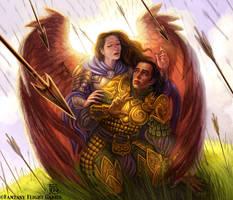 Guardian Angel for Talisman by feliciacano